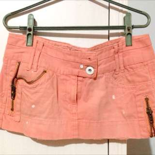 River Island London Brand Punk Rock Summer Short Skirt