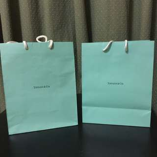 Tiffany & Co Paperbags
