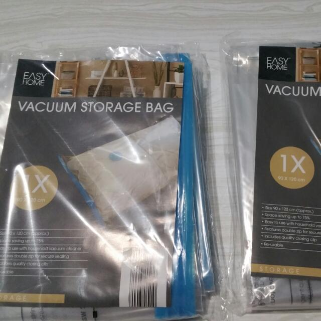 2x Vaccum Storage Bag