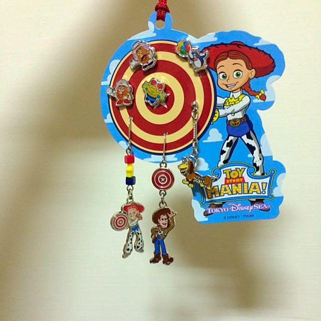 (待匯款)東京迪士尼耳環