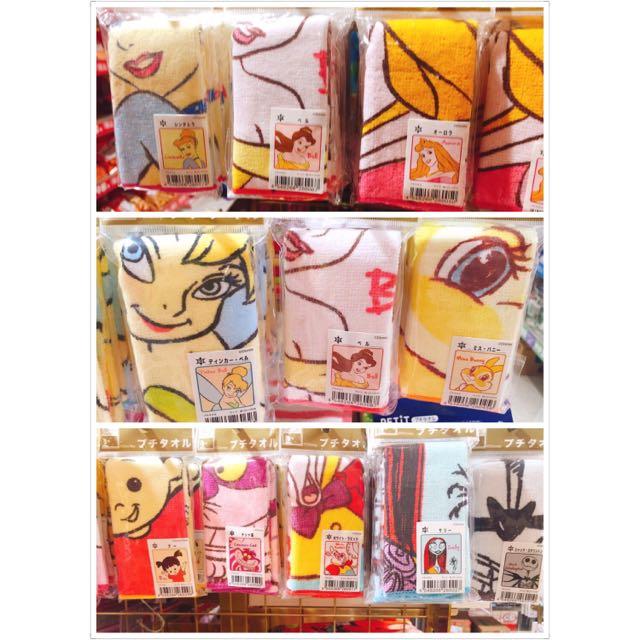 日本迪士尼 小手帕