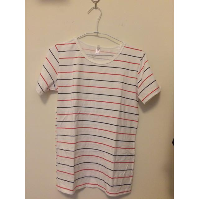 條紋上衣 短袖 T恤
