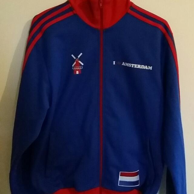 Adidas Superstar I love Amsterdam Jacket Size M