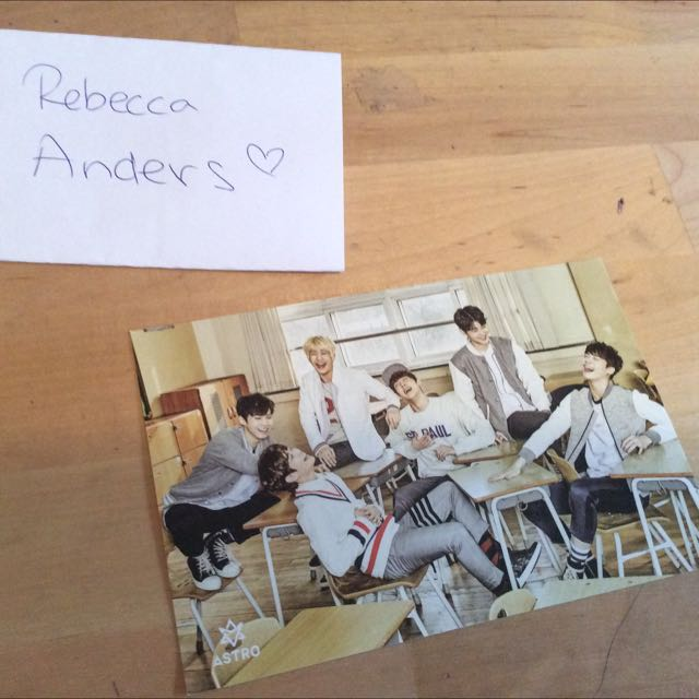 ASTRO OFFICIAL POST CARD