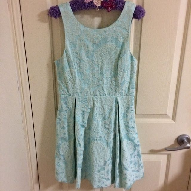 Baby Blue Tea Party Dress
