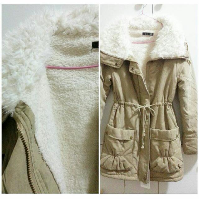 Biege Warm Women Jacket