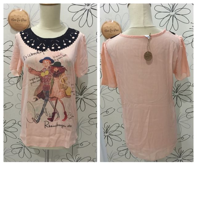 Reprice!!! Blouse Couple Pic Size S