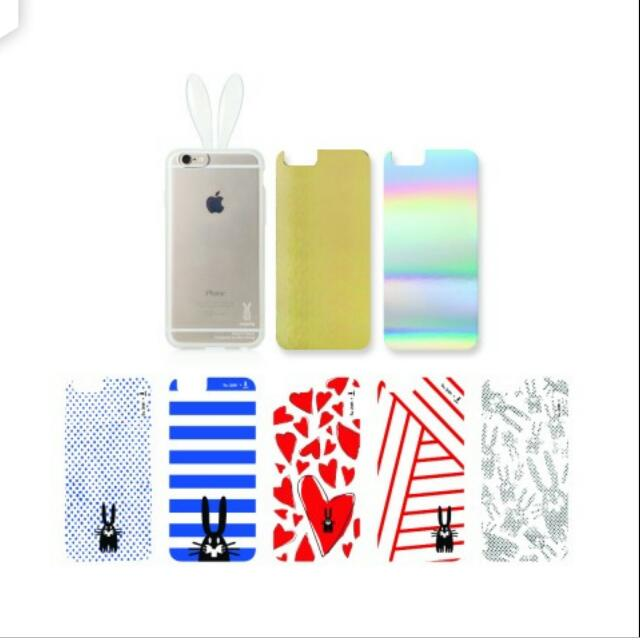 BN Rabito X PETER JENSEN IPhone 6 Cover (All 7 In layers Included With Clear Rabito Case)