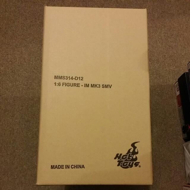 Brand New Hot Toys Iron Man Mark III Stealth Version With Brown Shipper Box