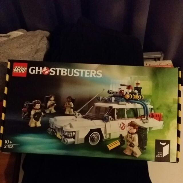 Brand New Lego Ideas Ecto 1 Ghostbusters