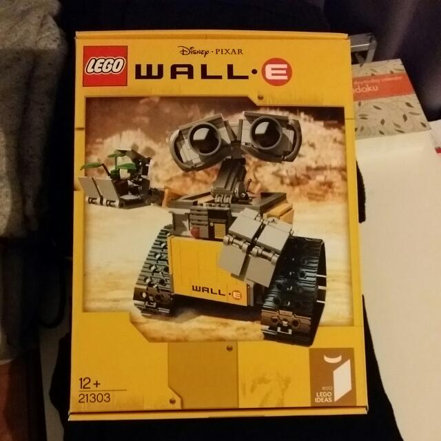 Brand New Lego Ideas Wall E