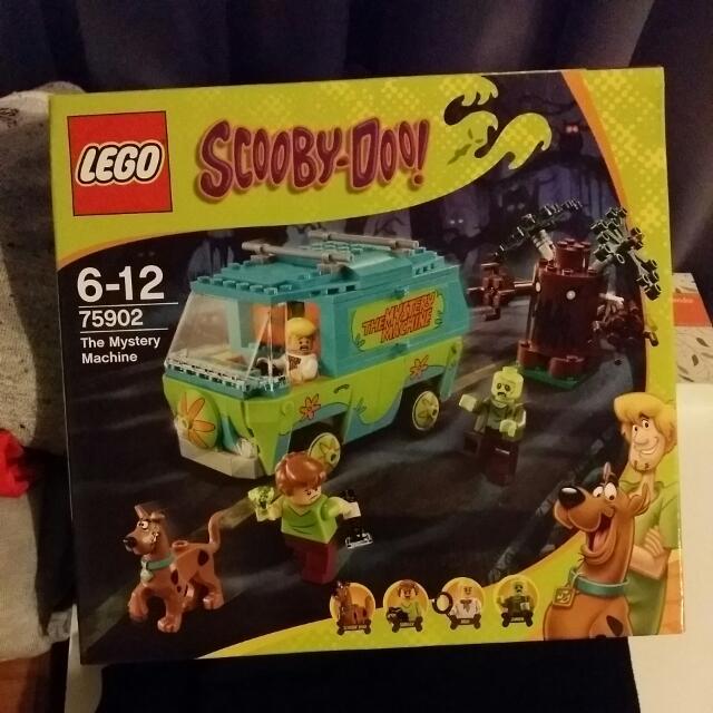 Brand New Lego Scooby Doo The Mystery Machine