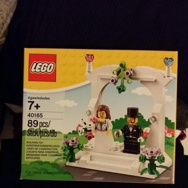 Brand New Lego Wedding Favor