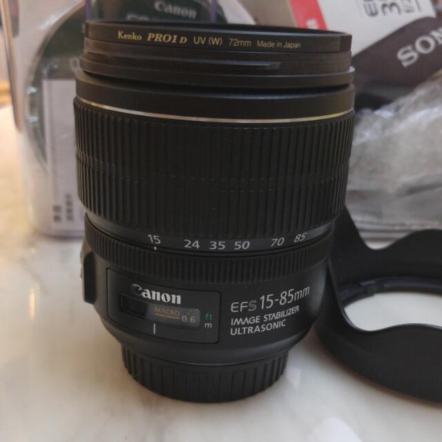 Canon 15-85mm F3.5-5.6 IS USM