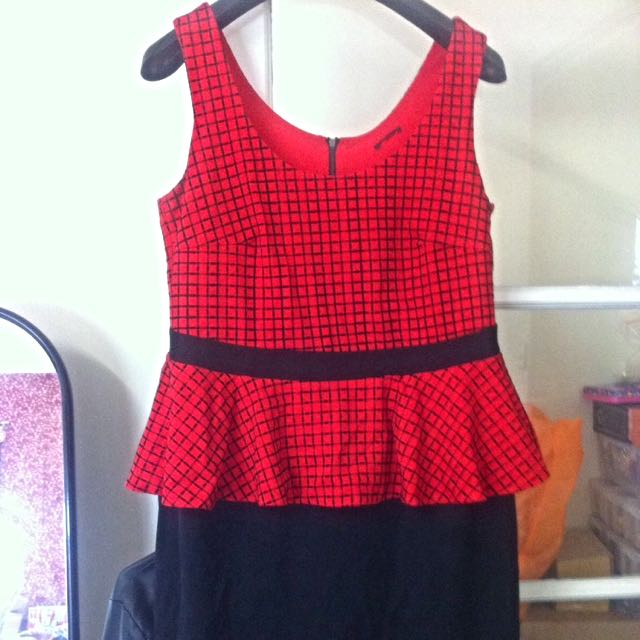 City Chic Spider-Man Peplum Dress