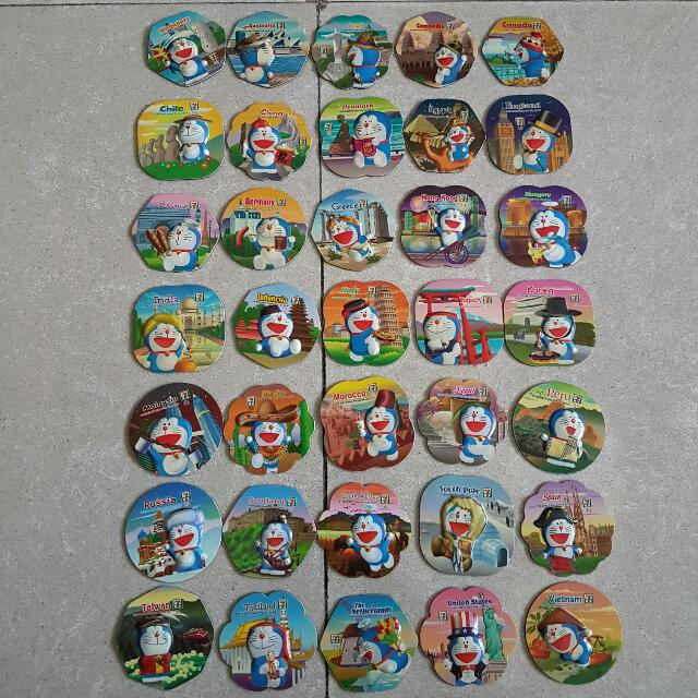 Doraemon 7-Eleven Magnet Collection (Full Set + Singapore Limited Edition)