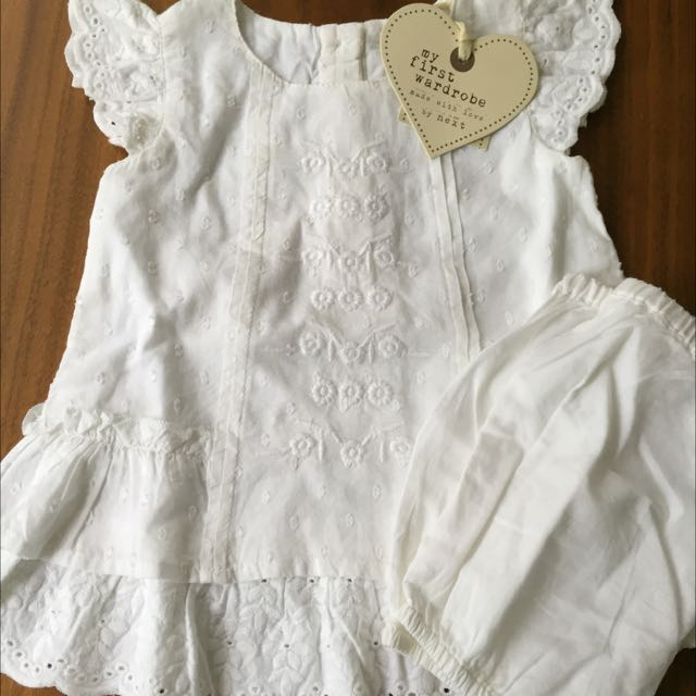 Girls 2 Piece Top And Bloomers