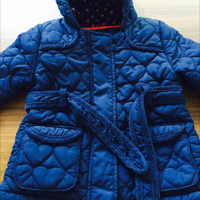 Girls Quilted Coat