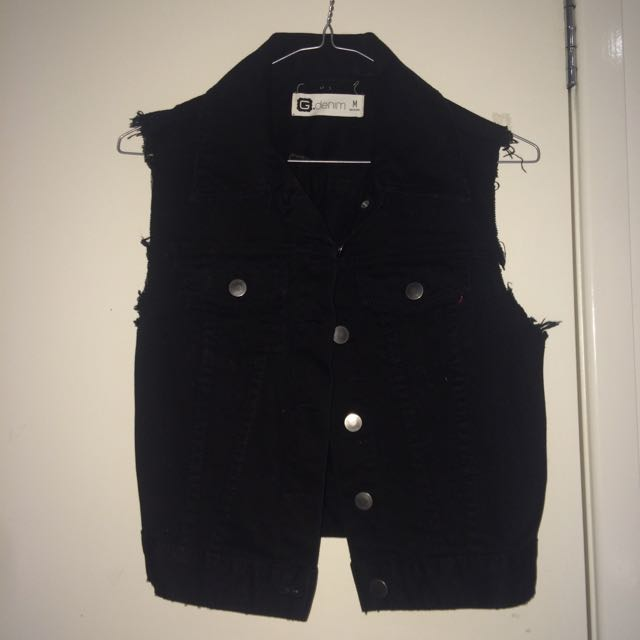 Glassons Black Vest