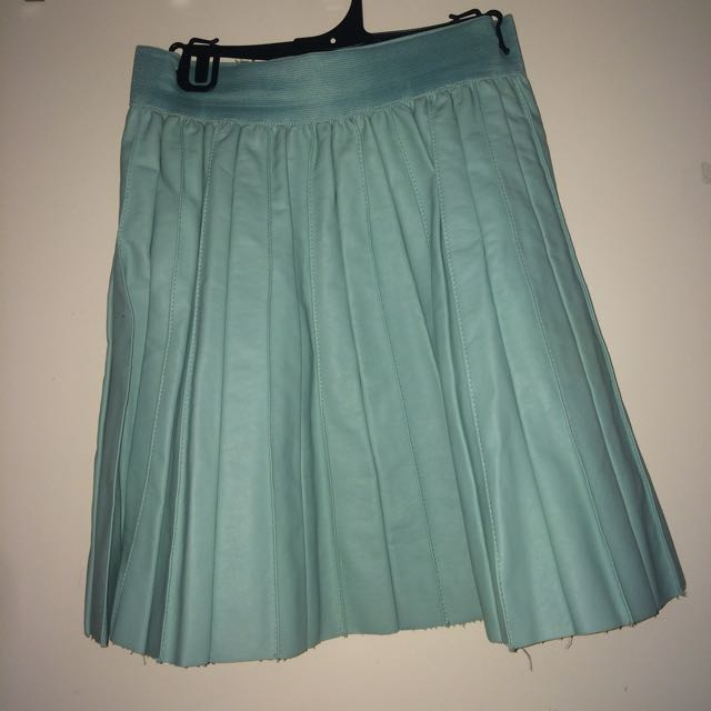 Glassons Dusty Mint Skirt