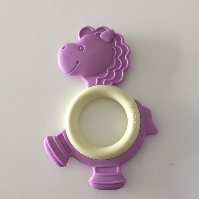 Greenpoint Brands Eco Teether, Purple Pony 3 Months+