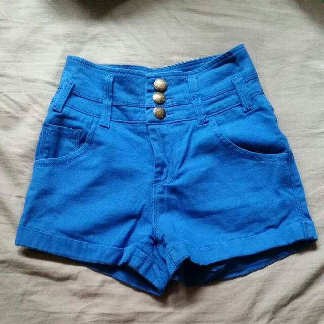 High Waisted Shorts - Size 6