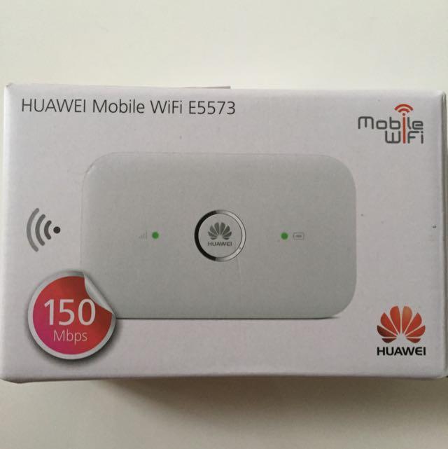 Huawei E5573 4G LTE Mobile Hotspot, Electronics on Carousell