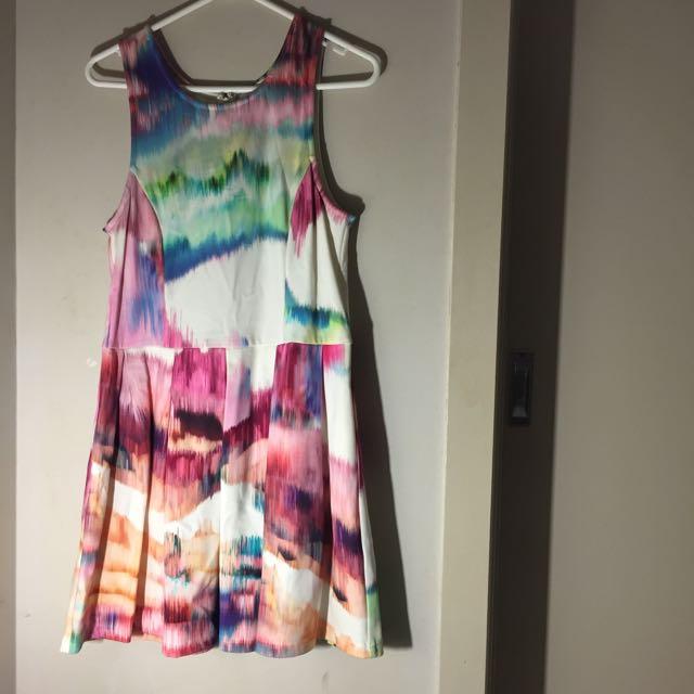 ISLA brand Colourful Skater Dress