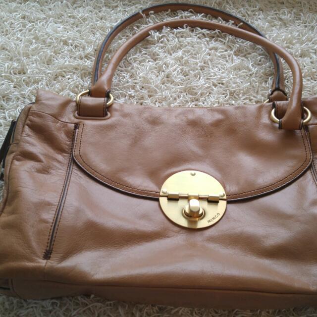 Light brown Oroton Bag