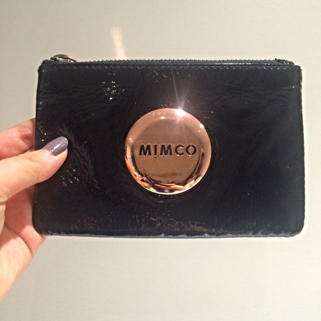 Mimco Rose Gold Pouch