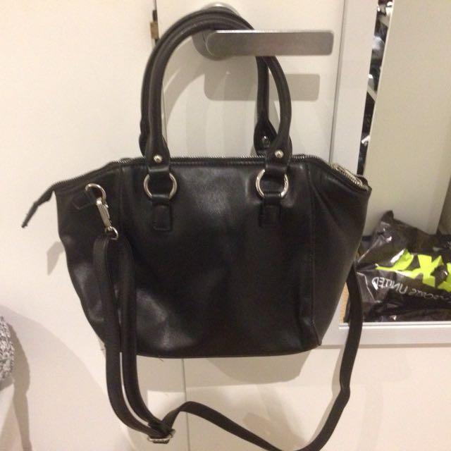 New Black Handbag