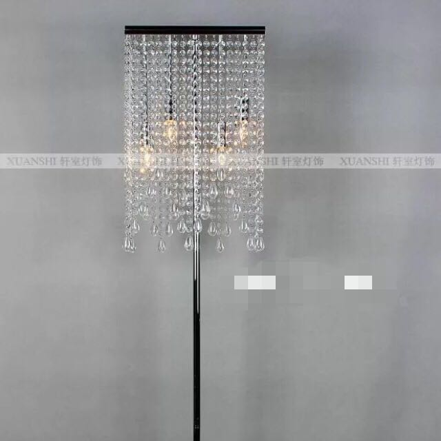 New Crystal Drop Floor Lamp Only 150