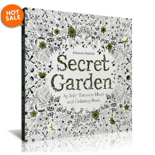 Original Korean Coloring Book Secret Garden Animal Kingdom Enchanted