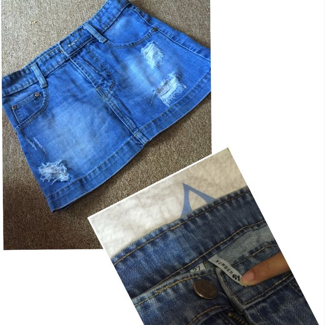 Rok jeans size 27 number 61