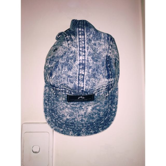 Rusty Blue Denim 5 Panel Cap