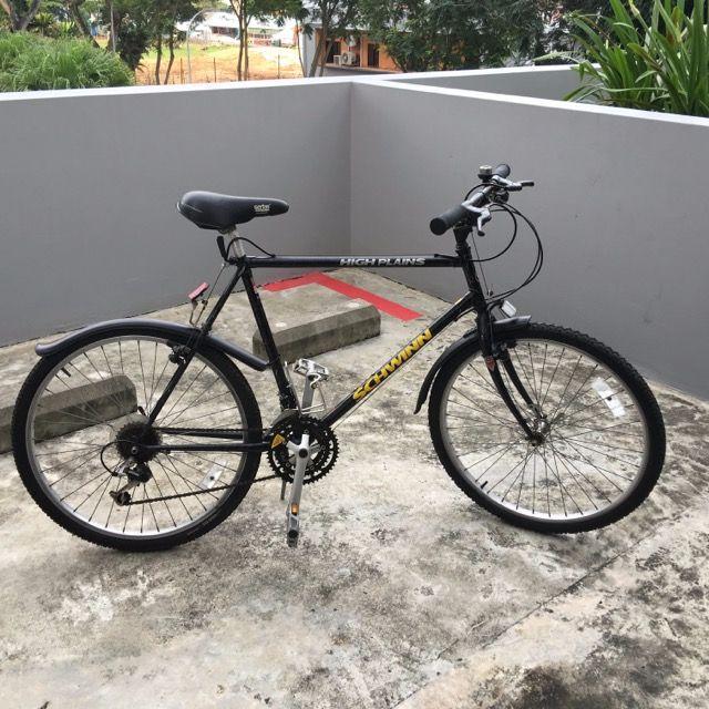 78fa5b187ef Schwinn High Plains Hybrid MTB Bicycle, Sports on Carousell