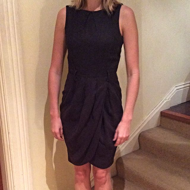 Size 8 Black Work Dress