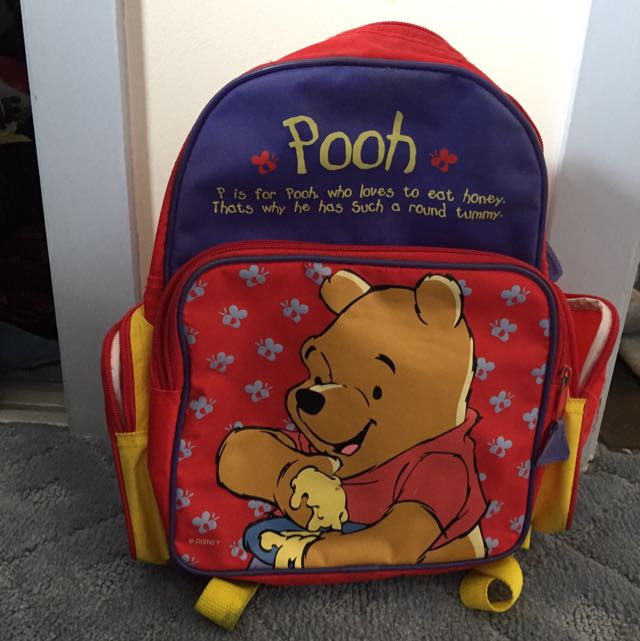 Small Winnie The Pooh Backpack