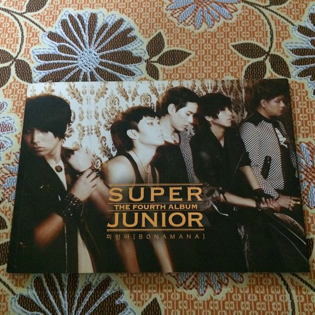Super Junior BONAMANA Album Korean Version