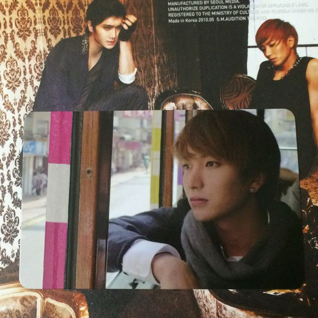 Super Junior BONAMANA Lee Teuk Leeteuk Official Photocard