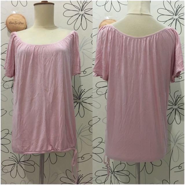 Reprice!!! Soft Pink Shirt