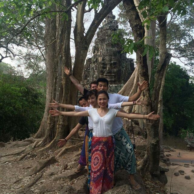 TWO DAYS TOUR AROUND SIEM REAP,ANGKOR WAT