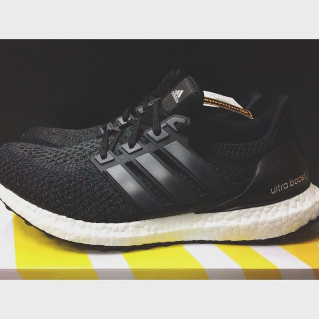 Ultra Boost M Core Black 2.0