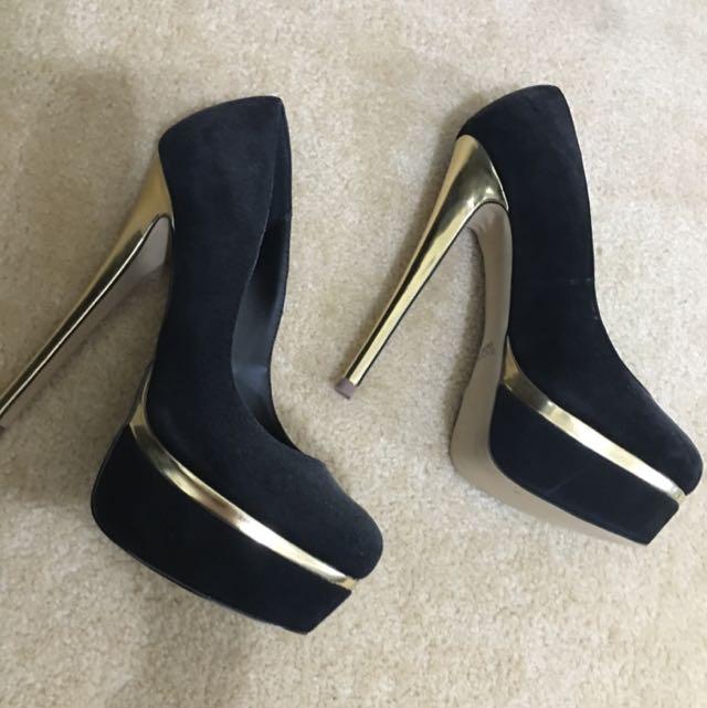 Windsor smith Gold Heels