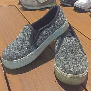 韓 銀 休閒鞋