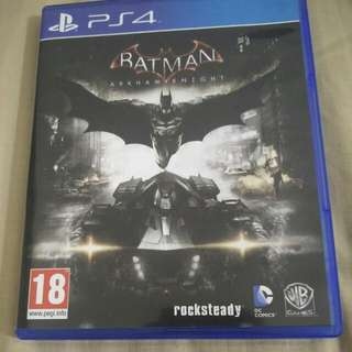 BATMAN Arkham Knight PS4 R2