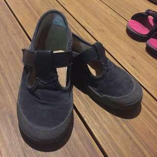 韓 絨布麂皮 休閒鞋
