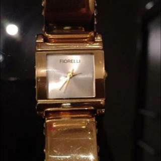 Gold Fiorelli Watch