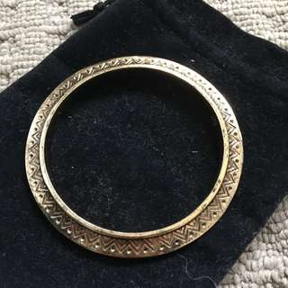 House Of Harlow Gold Bangle