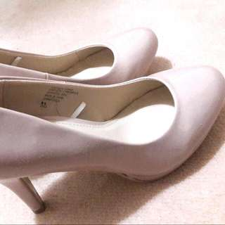 Beige Colour Heels